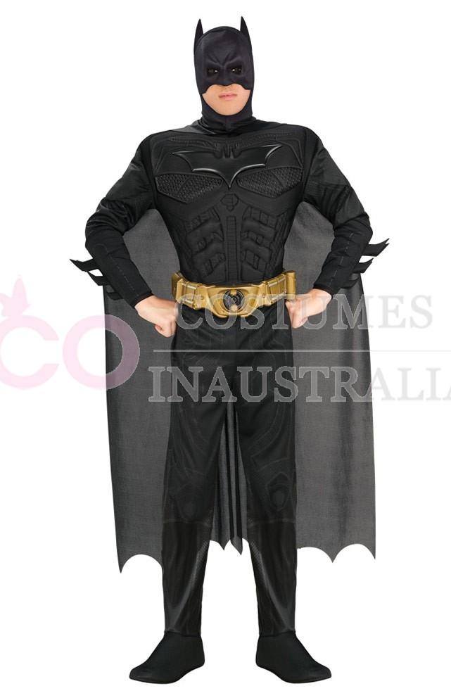 Adult batman costume deluxe