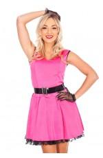 80s Costumes Australia - Ladies Madonna Pop Diva 80s Clothing Fancy Dress Costume & Black Lace Gloves