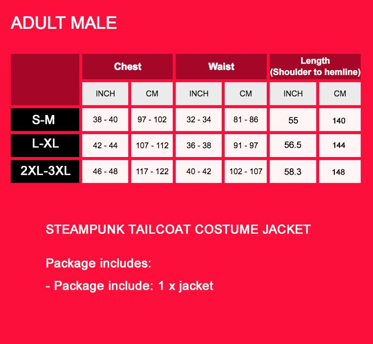 Black Mens Steampunk Vintage Tailcoat Jacket Gothic Victorian Frock Coat Business Suit Ringmaster