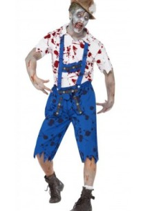 How do you create a zombie costume