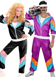 What is a shell suit costume?